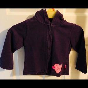 Carters Purple Jacket w/Hood Girls 4T